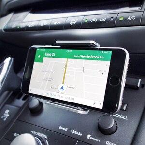 Image 5 - Alightstone ユニバーサル車の携帯電話ホルダー CD スロットマウントクレードル Iphone サムスンすべての 3.5 5.5 インチ電話