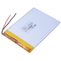 307095 3.7 V 2300 mAh Lipo Polymère Li-ion Batterie Au Lithium Pour télécommande Tablet PC MID CUBE U25GT E-book Puissance banque 037095