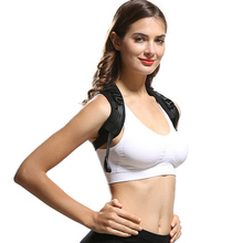 Sexy lady's 'Adjustable Posture Corrector Corset Back Support Brace Orthopedic Vest for beauty shape body care