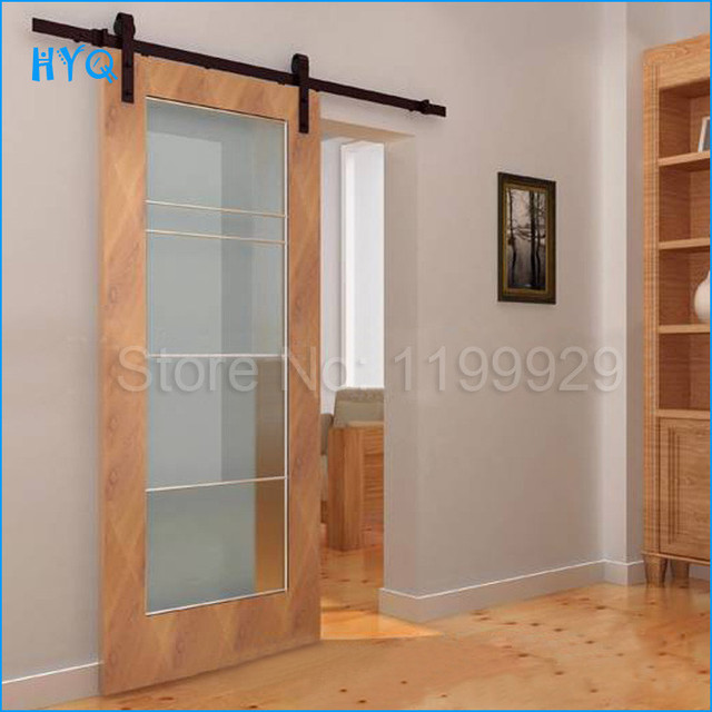 Promotion Porte De Placard High Quality Sliding Barn Door System Hardware Cast Iron