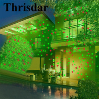Outdoor Moving Full Sky Star Laser Projector Landscape Lamp Green Red LED Stage Light Outdoor Lawn
