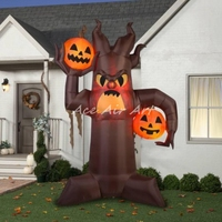 Hot Sale Wholesale Decoration For Halloween Pumpkin Tree For Outdoor Decoration