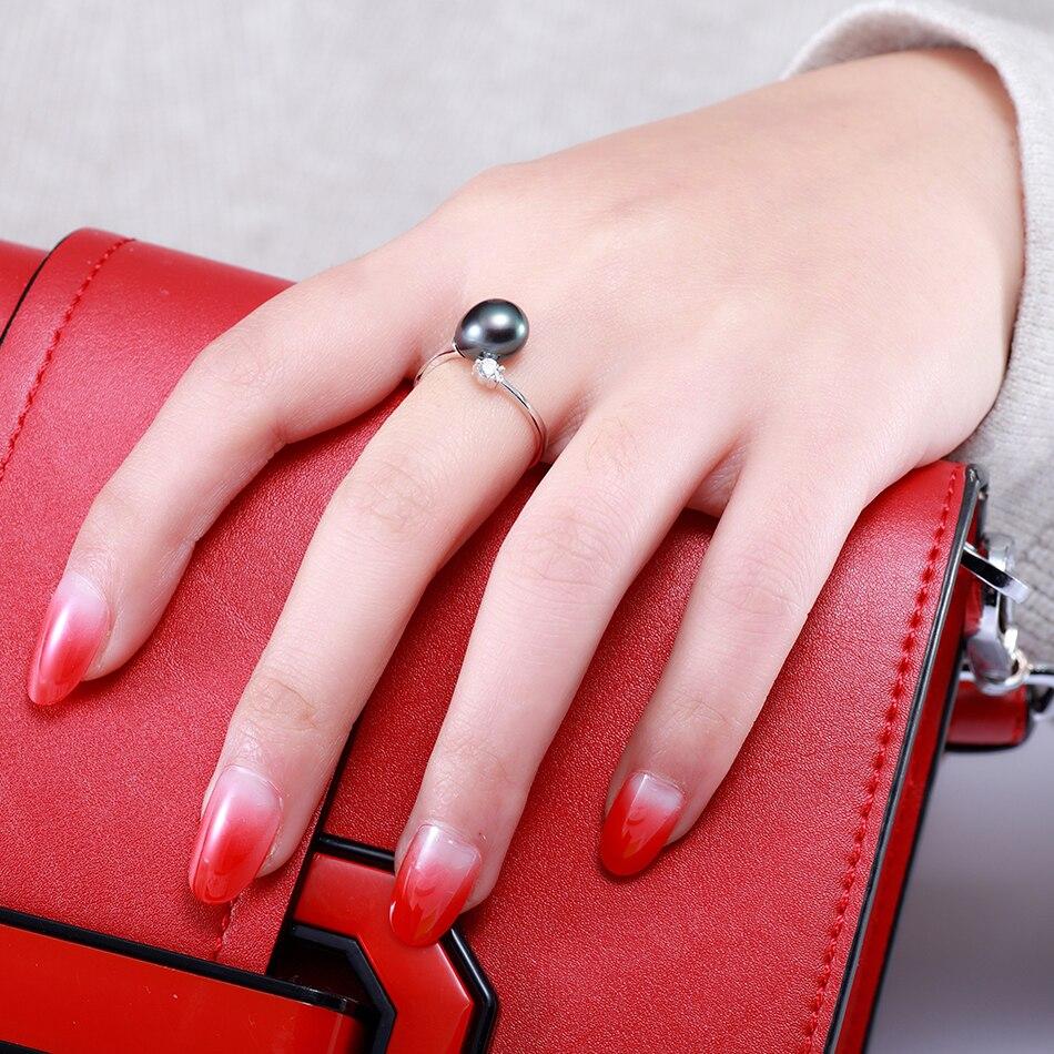 FEIGE Venta Al Por Mayor de Moda Anillos de Dedo de Perlas para Las - Joyas - foto 2