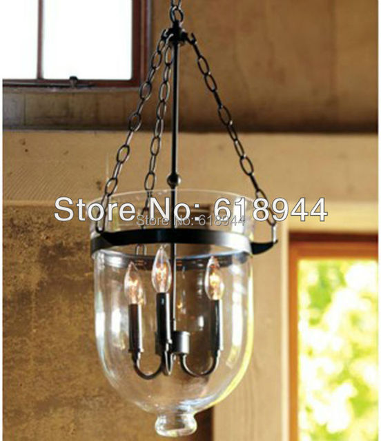 American country glass pendant lamp for dining room light fitting american country glass pendant lamp for dining room light fitting wrought iron rustic antique vintage aloadofball Choice Image