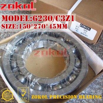 ZOKOL bearing 6230 C3Z1 Groove ball bearing 150*270*45mm