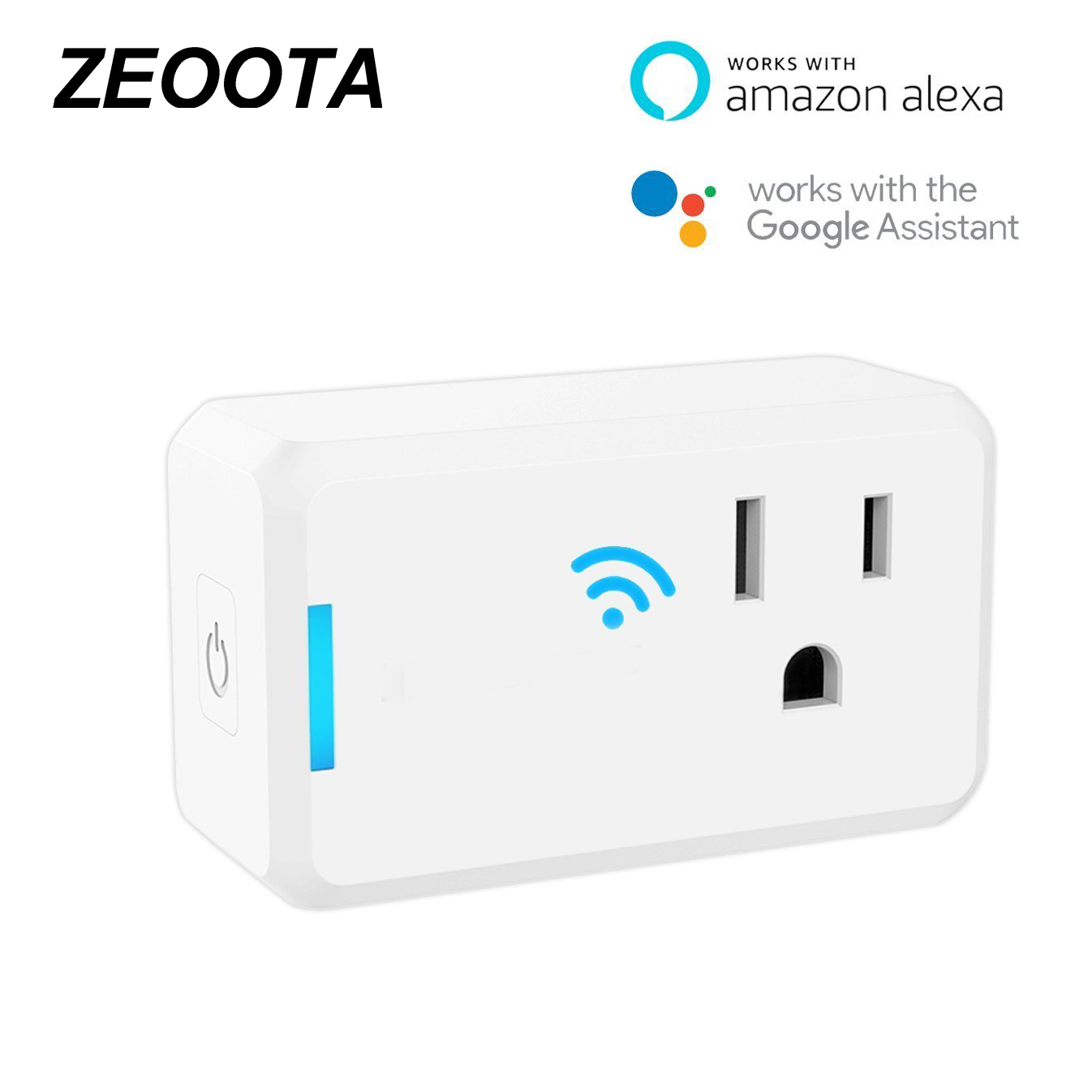 Wifi Smart Plug Outlet Power Socket Adapter Remote App