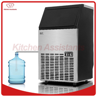 HZB50/B Electric Ice making machine cube ice maker machine price with barreled water