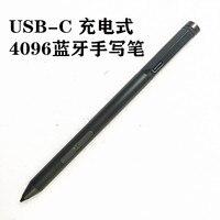 Bluetooth Charging USB C 4096 Pressure sensitive Handwriting Pen Touch Pen for LENOVO Yoga530 MIIX520 YOGA720 6pro yoga 730 X1