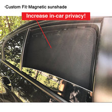 4 шт Автомобильные Боковые солнцезащитные козырьки для bmw x1