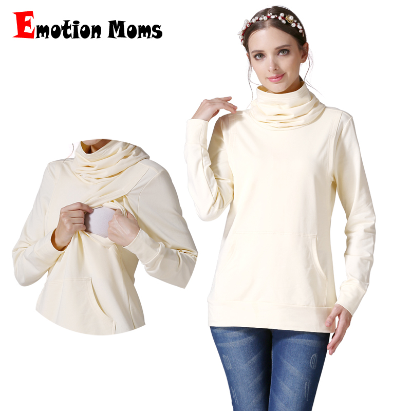Emotion Mom Turtleneck pregnancy Maternity Clothes nursing top Breastfeeding Clothes for Pregnant Women Maternity tops&shirt cute maternity clothes women for pregnant tshirt clothes summer women t shirts maternity clothes tops for pregnant