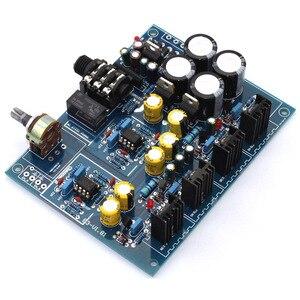 Image 2 - Hoofdtelefoon Versterker Board NE5532 BD139 BD140 voor 32 600 Ohm Speaker AC 12V 0 12V of AC15V 0 AC15V Hoofdtelefoon Amplificador