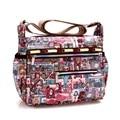 Casual Women Bag Brand Lesport Woman Messenger Bags Nylon Travel Designer Handbag Summer Beach Sac Ladies Shoulder Crossbody Bag