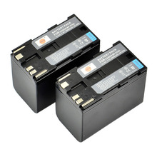 DSTE 2PCS BP-970G Rechargeable Battery for Canon XLH1 XL2 XM2 XH G1S XH A1S XHG1 XHA1 XF305 XF300 XF105 XF100 Camera