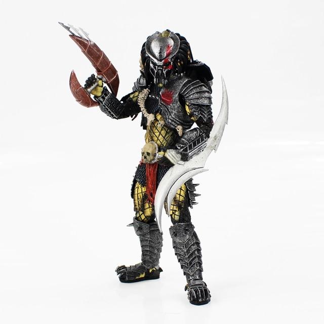 21cm NECA Predator PVC Action Figure Model Toy Concrete Jungle Predator model for adult not for kids