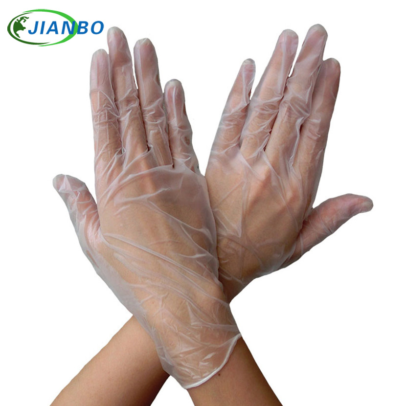 10Pcs Disposable Cleaning For Housework Cook Tattoo Facial Kitchen Backing BBQ Plastic Transparent Safety Working PVC Gloves10Pcs Disposable Cleaning For Housework Cook Tattoo Facial Kitchen Backing BBQ Plastic Transparent Safety Working PVC Gloves