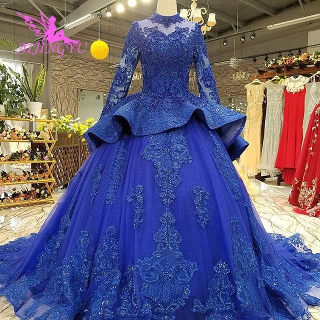 AIJINGYU robes de mariée robe de fiançailles états unis balle russe perles Sexy où acheter des robes de mariée robe de mariée grande taille