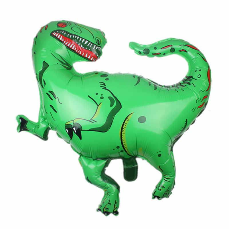 ยักษ์ไดโนเสาร์ฟอยล์บอลลูนงานปาร์ตี้ Inflatable Air Walkers บอลลูน Photo Prop เด็กของเล่นสำหรับเด็กวันเกิด Party Supplies