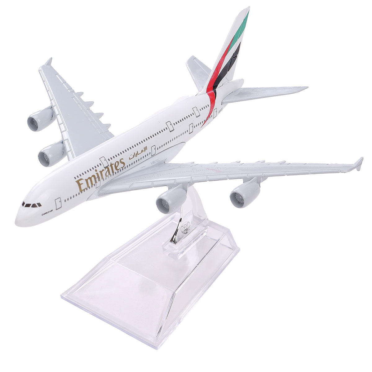 New Airbus380 Emirates Airlines A-380 Aircraft Aeroplan 16cm High Simulation Diecast Model United Arab Emirates A380