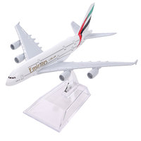New Airbus380 Emirates Airlines A 380 Aircraft Aeroplan 16cm High Simulation Diecast Model United Arab Emirates