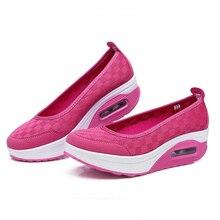 2018 Summer Women Flat Platform Shoes Women Breathable Mesh Casual Shoes Fashion Platform Shake shoes