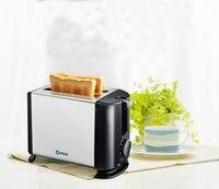 טוסט מיני תנורי תנור נירוסטה אוטומטי מכונת לחם תנור תנור אלקטרוני ביתי שימוש קל כלי מטבח 2 דקות