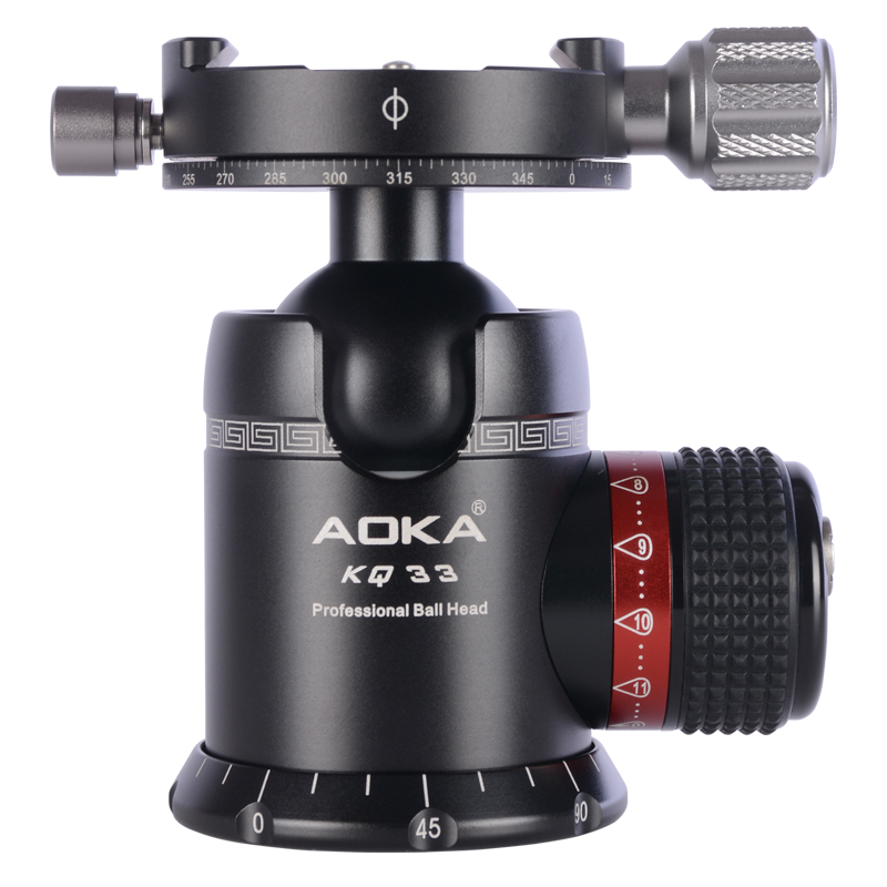 AOKA professional panoramic 360 degree camera tripod ball head