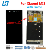 Xiaomi Mi3 Lcd Touch Screen With Frame 100 New Original Display Digitzer Panel Glass Replacement For