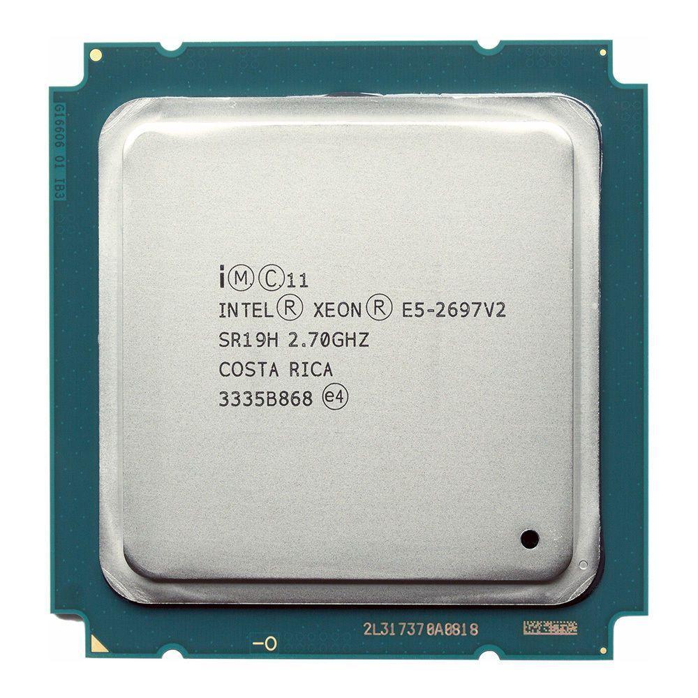 Intel xeon e5 2697 v2 2 7GHz 30M QPI 8GT s LGA 2011 SR19H C2 E5