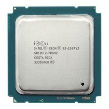 Intel xeon e5 2697 v2 2.7GHz 30M  QPI 8GT/s LGA 2011 SR19H C2 E5-2697 v2 CPU Processor 100% normal work