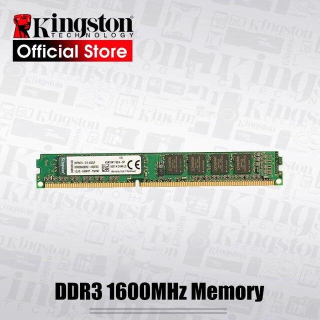Kingston Memoria RAM 1600MHz DDR3 (PC3 12800) 240 Pin 2GB 4GB 8GB Intel DIMM Motherboard Memory For Desktop PC
