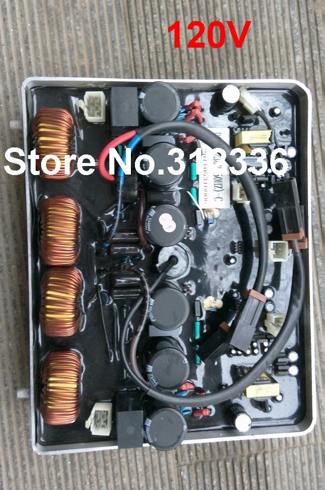 US $411 16 5% OFF|Fast Shipping IG6000 AVR DU50 120V/60Hz Inverter  generator spare parts suit for kipor Kama Automatic Voltage Regulator-in  Generator