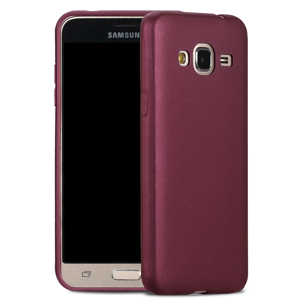 X-Level Guardian Soft Matte TPU Case for For Samsung Galaxy J3 2016 J320 Scrub Back Cover for Samsung J3 6/J320F Silicone Case