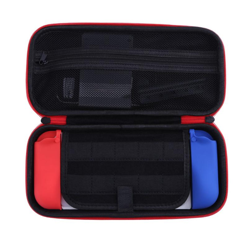6 in 1 Game Set Storage Bag+Silicone Covers+ Expansion Card Box+PET screen Film for Nintendo Switch Series
