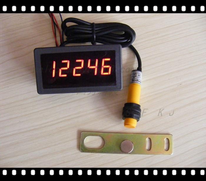 все цены на Table 5135 panel \ \ \ digital frequency meter tachometer tachometer speed meter panel counter, full set онлайн