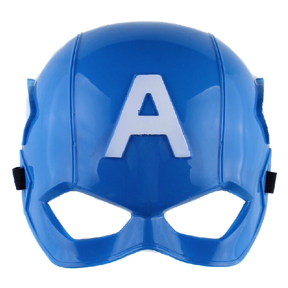 10pcs x halloween movies captain america mask helmet cosplay party gifts fancy maskschina