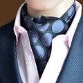 Popular Floral Men's Formal Neck Tie Dot Pattern Wedding Neck Tie Men's Classic Suits Silk Tie Neckwear