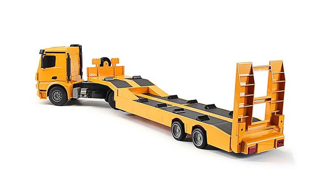 Camion de remorquage RC remorque télécommandée pour enfants 90 CM grand camion de remorquage RC remorque télécommandée 4WD RC camion jouets