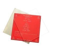MK2 Impresora 3D Cama Calentada tamaño 213*200*3mm Placa De Vidrio Borosilicato templado/1 unids Vidrio placa solamente!!!