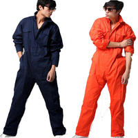 Work overalls men women protective coverall repairman strap jumpsuits trousers working uniforms Plus Size 100% cotton coveralls