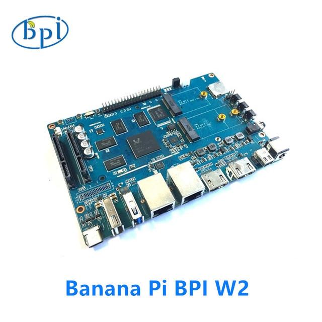 Banana Pi BPI W2 inteligente router NAS RTD1296 diseño de chip