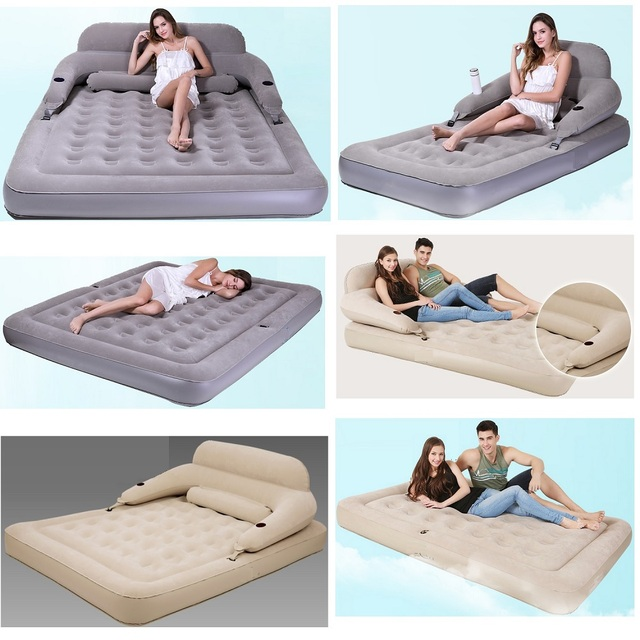 Inflatable bed folded disassembly combination air cushion bed Inflatable mattress Home outdoor portable sofa bed tent  sc 1 st  AliExpress.com : inflatable bed tent - memphite.com