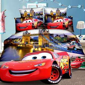 Disney McQueen Cars Bedding Se