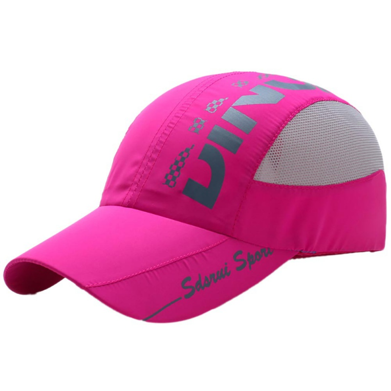 Summer Mesh Hat Outdoor Men Women Tourism Sun Protection Hat Sports Riding Cap Quick drying Breathable Climbing Cap in Hiking Caps from Sports Entertainment