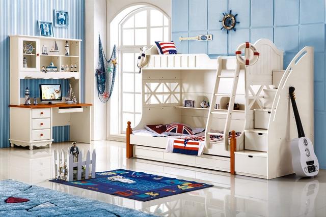 Etagenbett Holz Günstig : Kinder etagenbett mit schublade treppen holz in