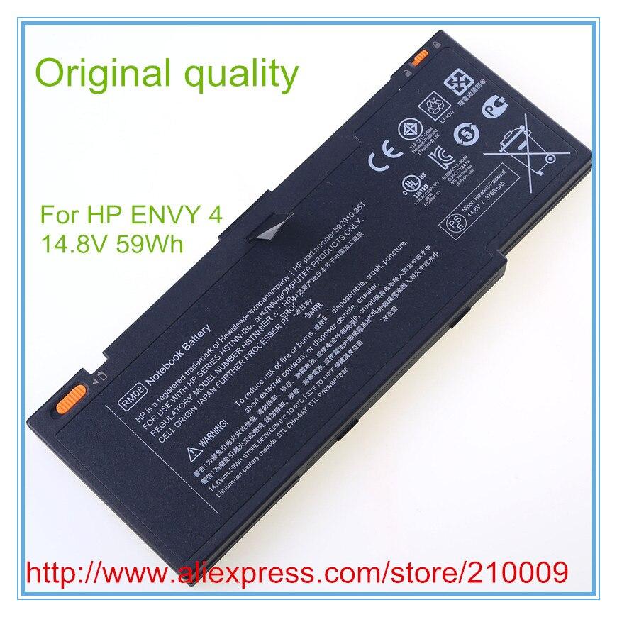 Original New Laptop Batteries for 592910-541 HSTNN-UBIK RM08 original new laptop battery for dm3 dm3 1000 dm3 1100 hstnn db0l hstnn ub0l 577093 001 hstnn e02c hstnn e03c