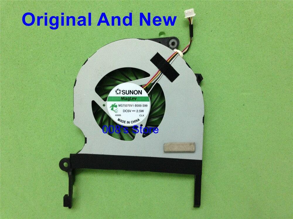 Новый ноутбук Процессор кулер вентилятор для ноутбука ACER ASPIRE 5943 5943G 8943 8943G 8950 8950g MG75070V1-B000-S99 DC 5V 2,5 W Радиатора