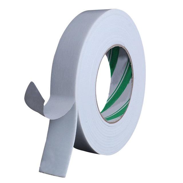 10 M Super fuerte doble cara cinta adhesiva de espuma cinta de doble cara almohadilla autoadhesiva para montaje almohadilla de fijación adhesiva
