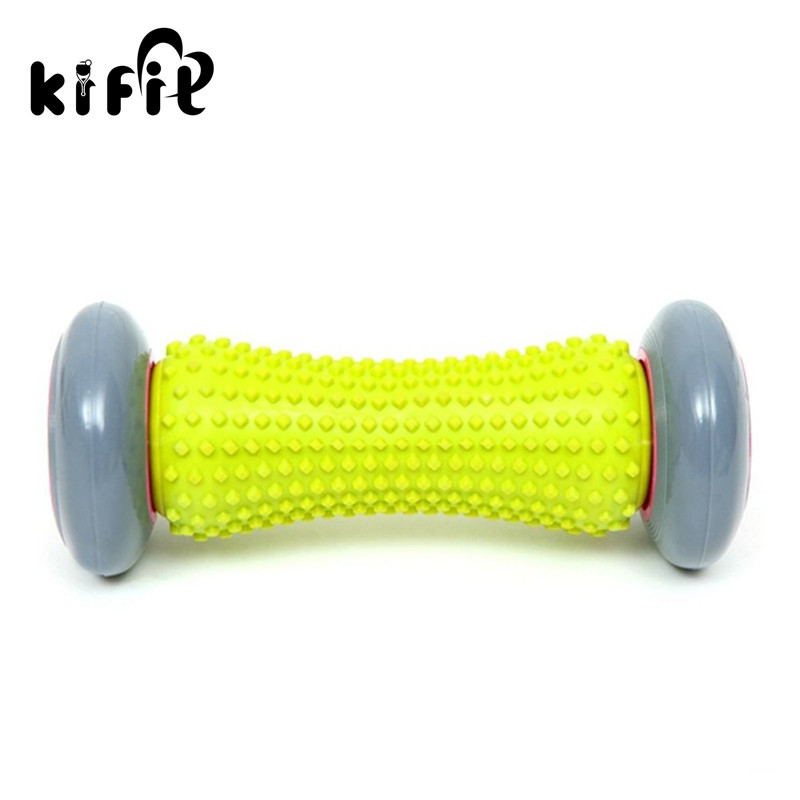 KIFIT Practical Foot Massage Roller for Plantar Fasciitis Heel Foot Arch Pain Relief Relaxation Therapy Massage Health Care Tool kifit newest chinese health daily exercise stress relief handball baoding balls relaxation therapy ying yang blue massage tool