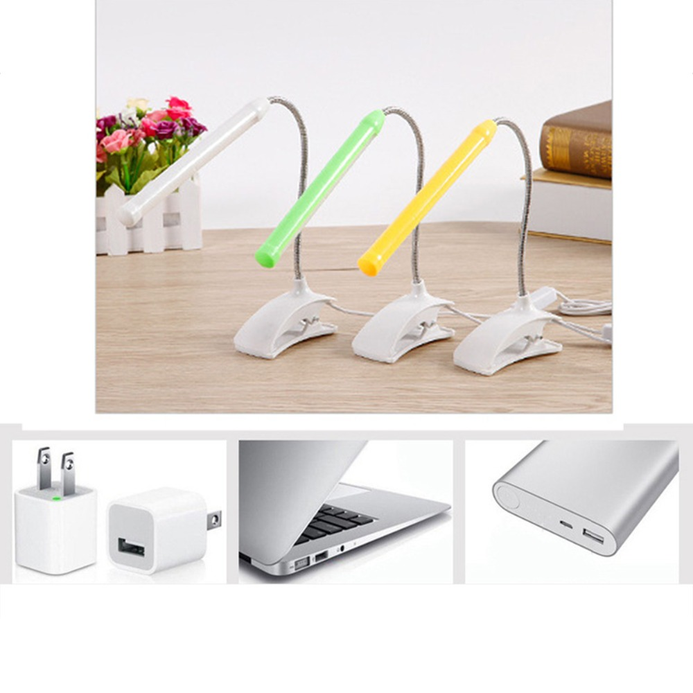 Lights & Lighting Child Read Book Light Desk Lamp 5v Usb Flexible With Clip Desk Lamp For Children Bedroom Reading Light Shadeless Book Light Led