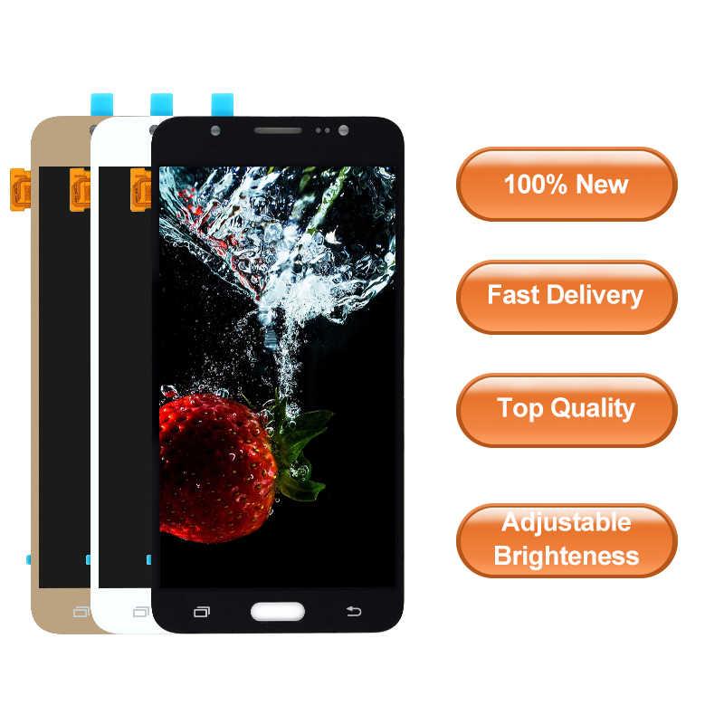 """5.5 """"สำหรับ Samsung Galaxy J7 2016 J710 SM-J710F J710M J710H J710FN คุณภาพสูงจอ lcd Digitizer assembly"""